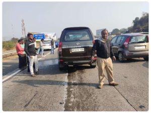 शबाना आज़मी का कार एक्सिडेंट, जावेद अख्तर भी थे मौजूद! 1