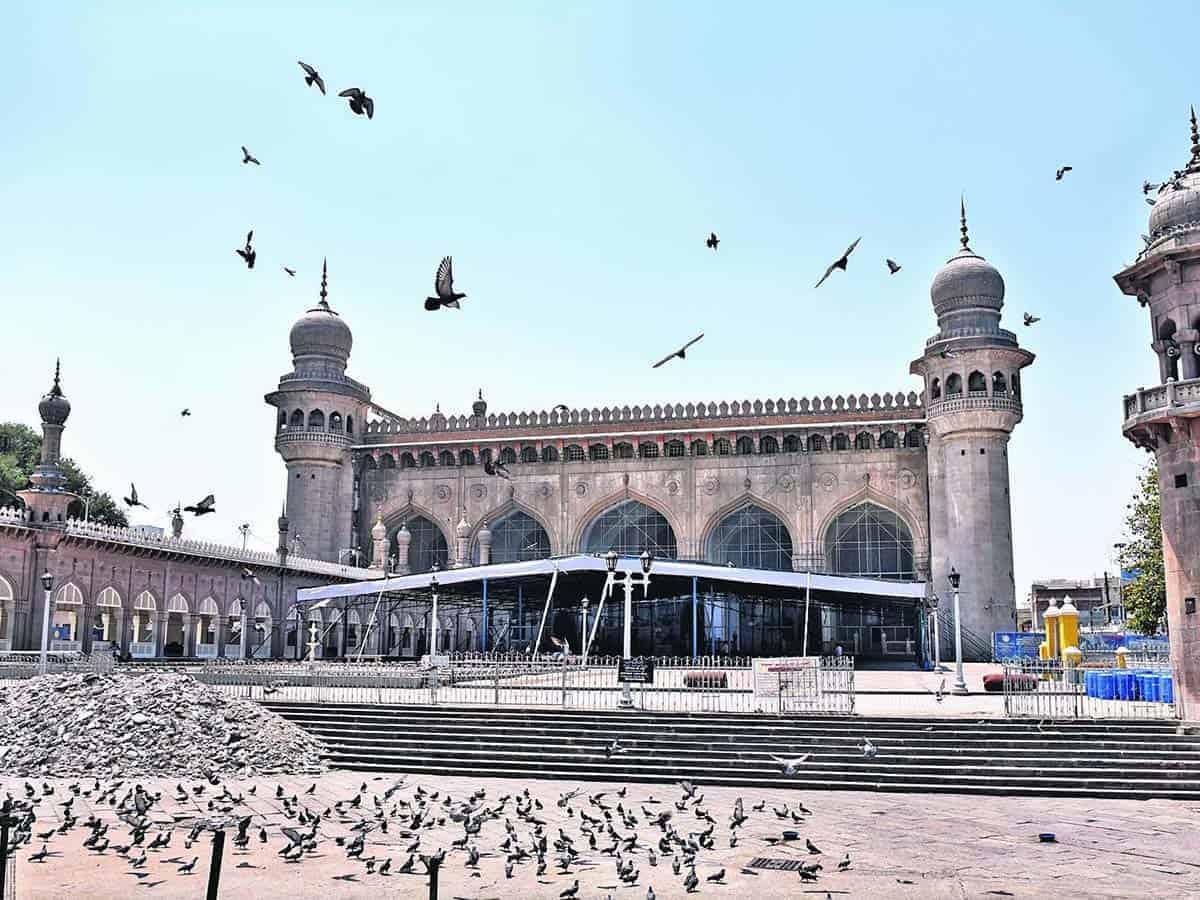 हैदराबाद- मक्का मस्जिद ईद-उल-फितर पर रहेगी बंद