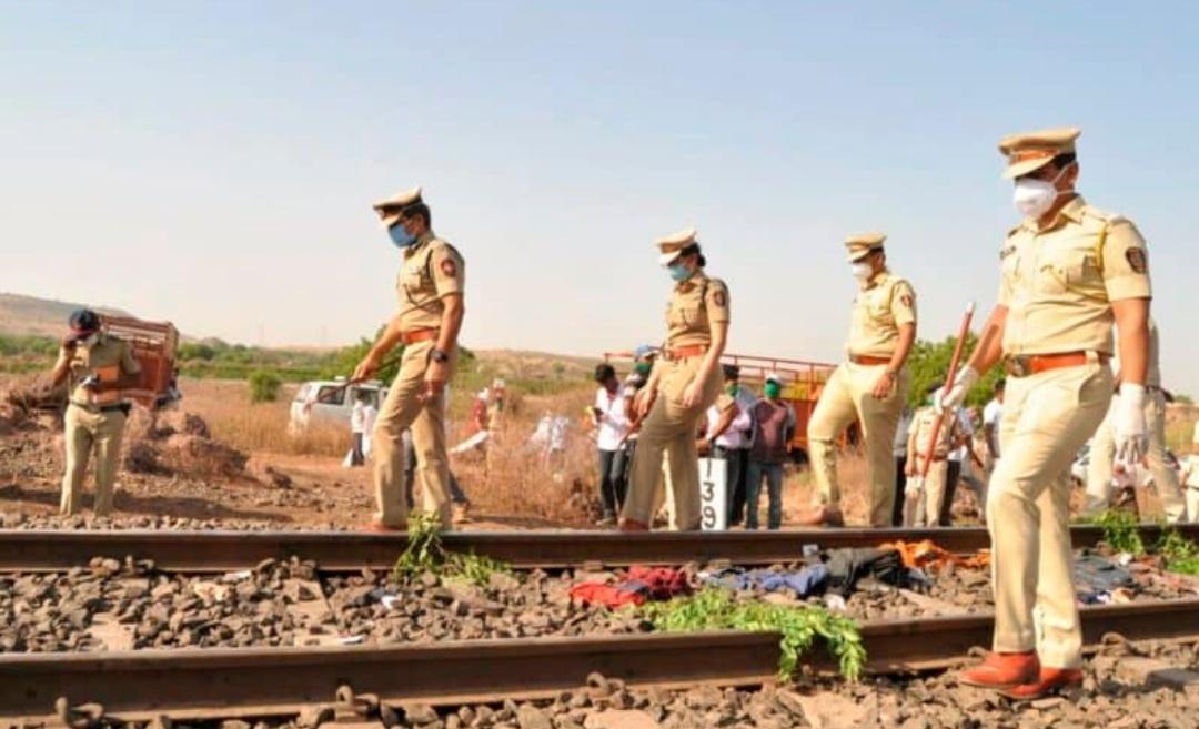 औरंगाबाद में 14 प्रवासी मजदूर की मालगाड़ी से कटकर मौत!