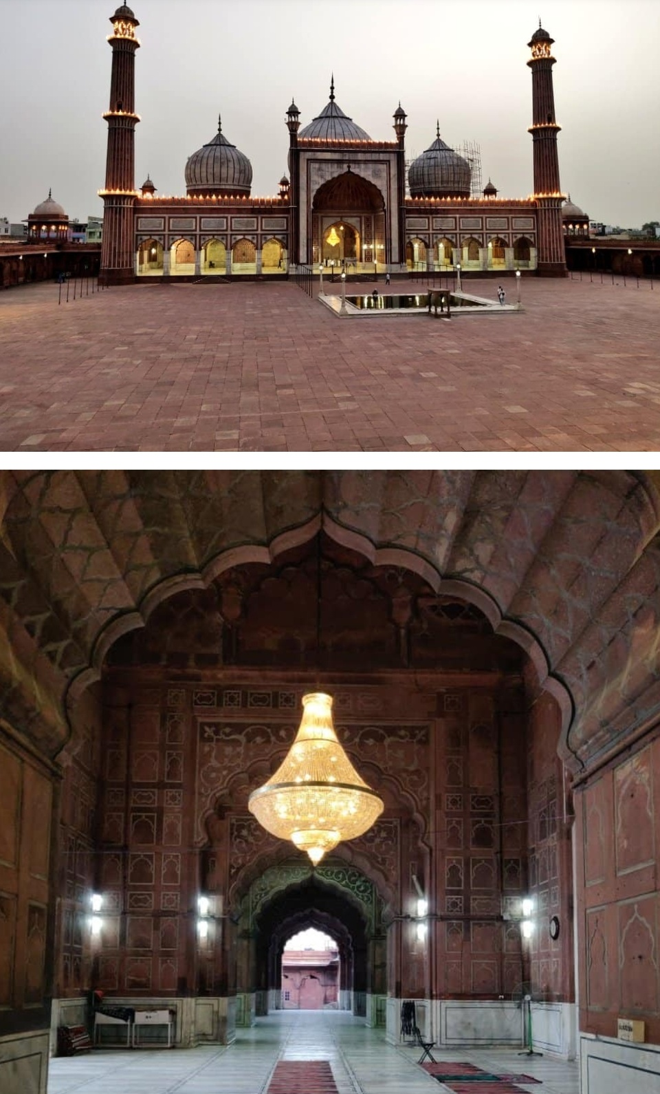 ईद-उल-फितर के दिन ऐतिहासिक जामा मस्जिद रही बंद! 1