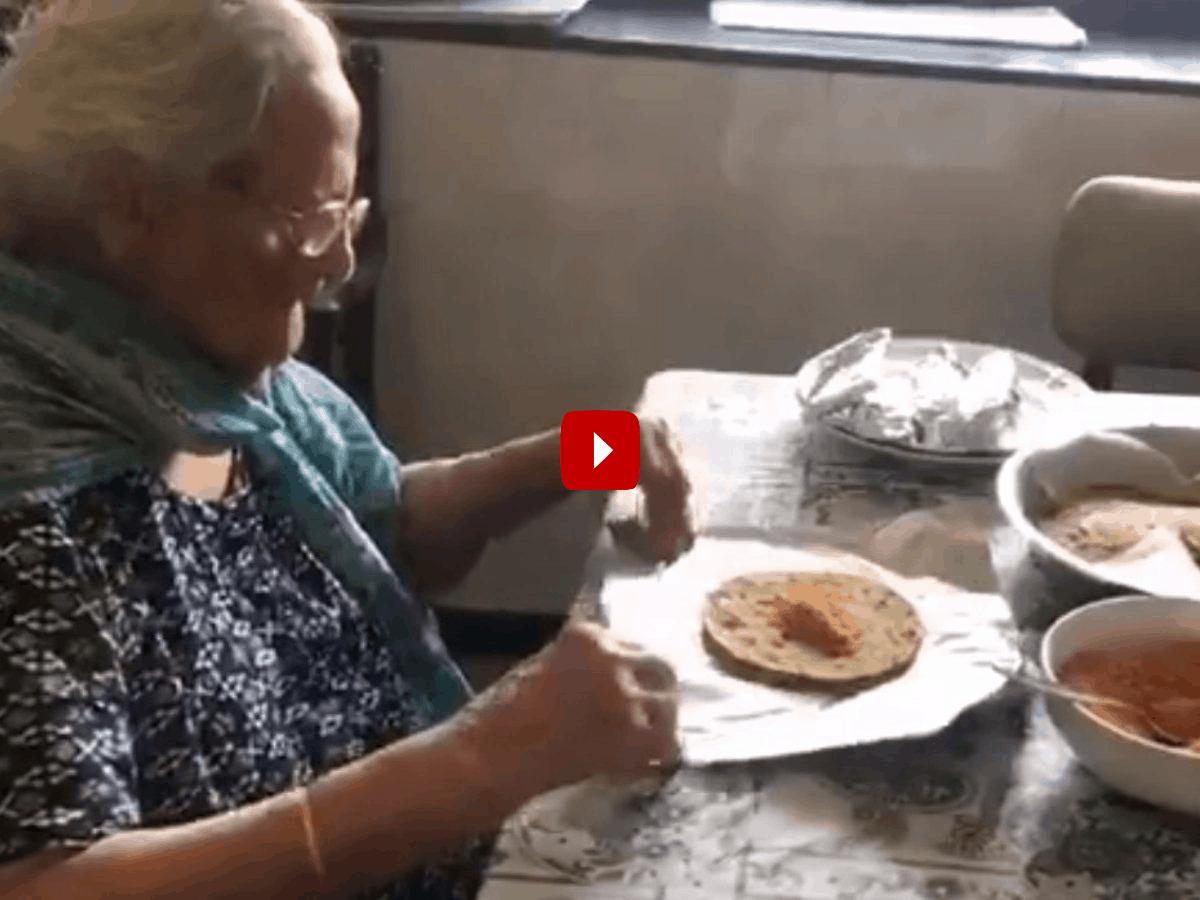 99 साल की बूढ़ी दादी ने जीता सबका दिल, प्रवासी मजदूरों की ऐसे कर रही हैं मदद 13