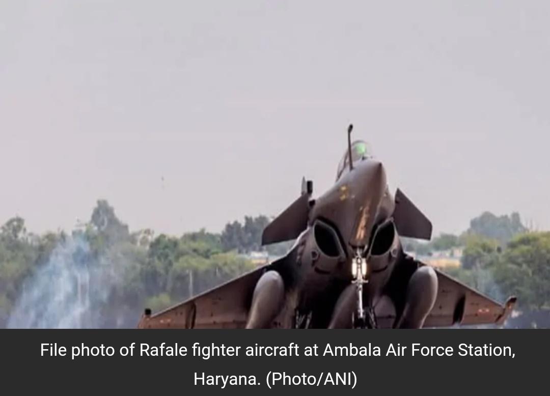 राफेल को वायु सेना में शामिल करने के लिए होगा समारोह, फ्रांसीसी रक्षा मंत्री को भी आमंत्रित किया गया! 7
