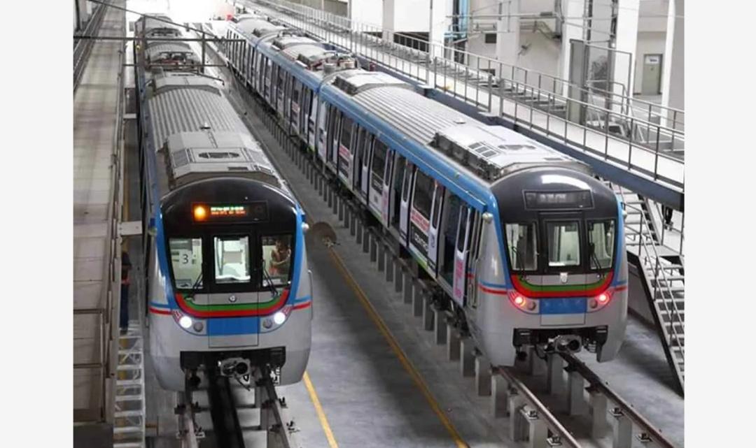 हैदराबाद: मेट्रो रेल सेवा को फिर से किया गया बहाल! 19