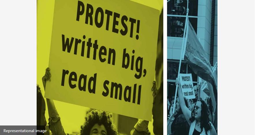 स्टैच्यू ऑफ यूनिटी मंच के आसपास के गांवों के आदिवासी ने किया विरोध प्रदर्शन 10