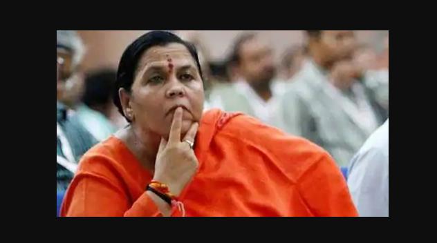 बीजेपी की फायर ब्रांड नेता उमा भारती को हुआ कोविड-19 पोजिटिव! 5