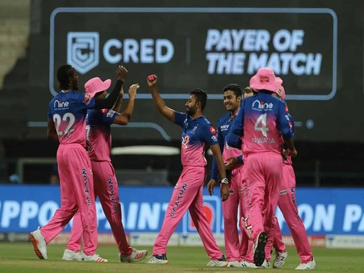 आईपीएल - राजस्थान ने चेन्नई को 125 रन पर रोका 1