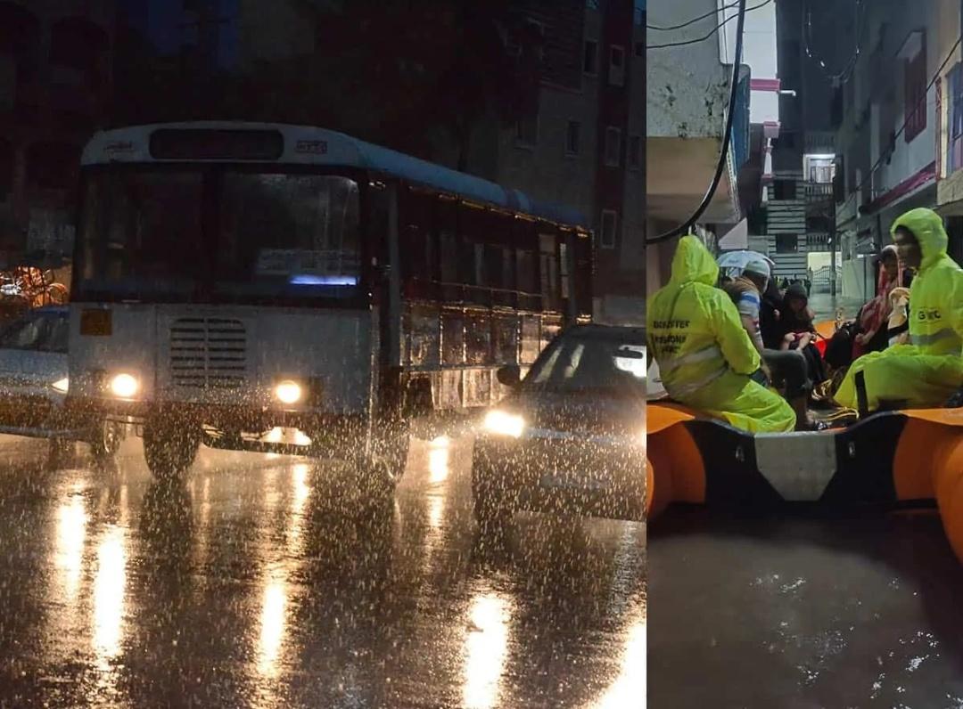 तेलंगाना में बारिश का क़हर, दो दिनों की छुट्टी! 13