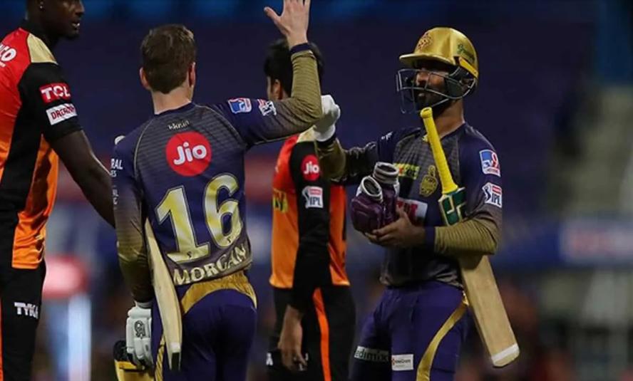 कोलकाता नाइट राइडर्स ने सनराइज़र्स हैदराबाद का हराया ! 5