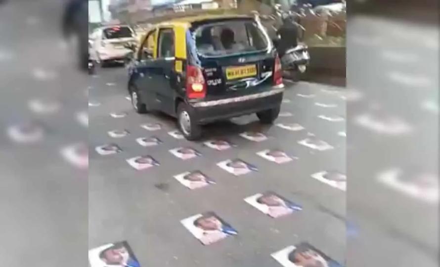 फ्रांस के विरोध में मुंबई में प्रदर्शन - सड़क पर बिखरी थी राष्ट्रपति की तस्वीर, पुलिस ने हटाया 17