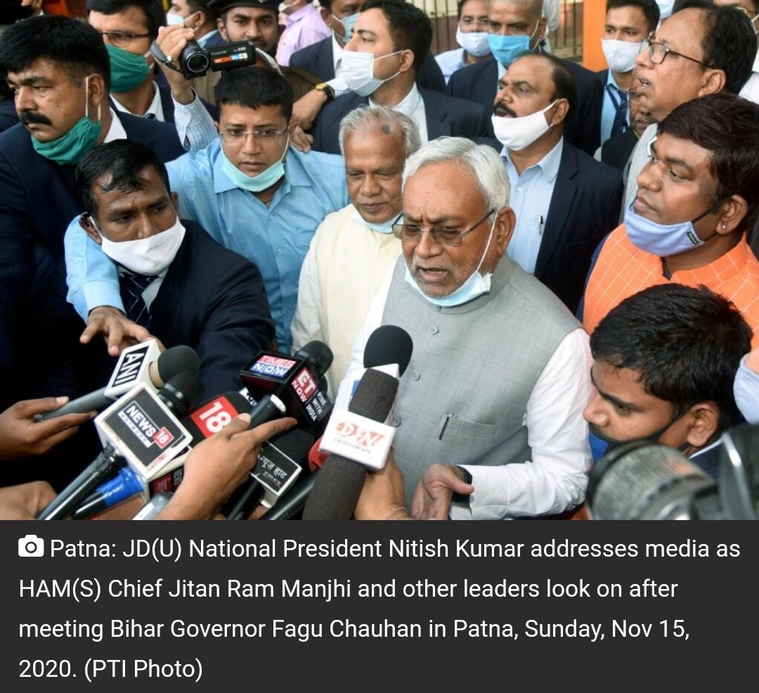 एनडीए के विधायक दल के नेता चुने गए नीतीश कुमार, कल लेंगे मुख्यमंत्री का शपथ! 10