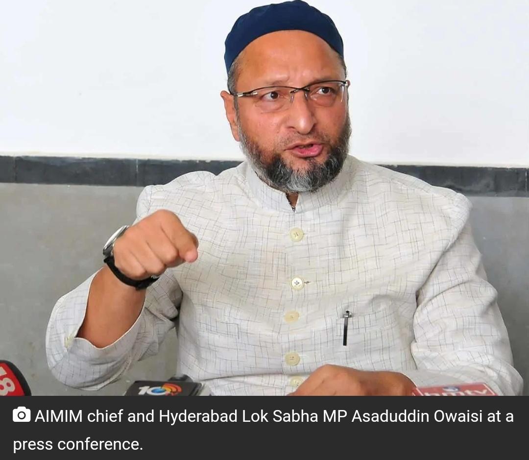 ओवैसी का अमित शाह को जवाब: देश का गृहमंत्री एक सांसद से पूछकर एक्शन लेगा? 8