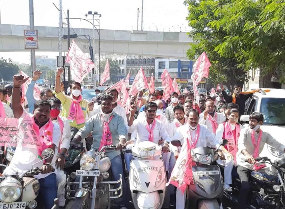 TRS कार्यकर्ताओं पर भारत बंद के दौरान हिंसा के लिए मामला दर्ज किया गया! 12
