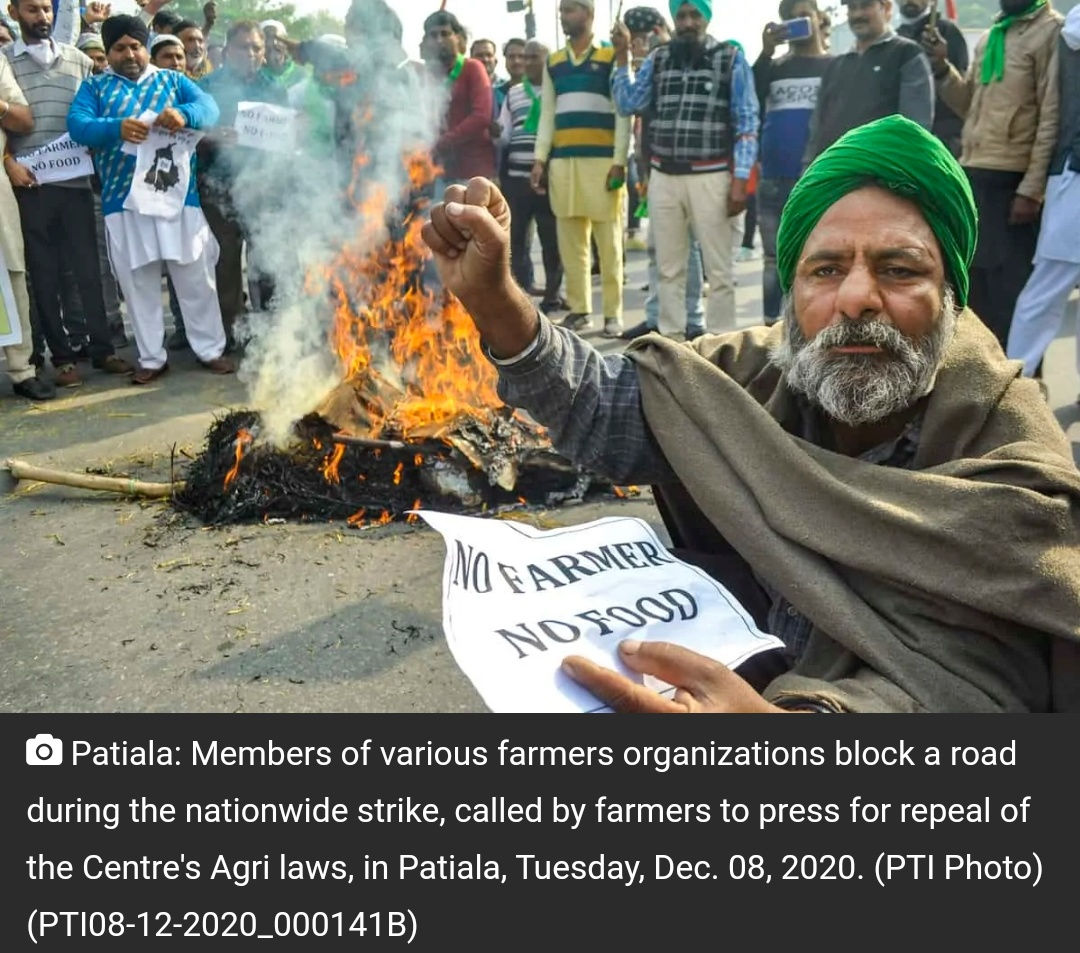 किसान आन्दोलन का आज 14वां दिन, बातचीत का दौर जारी! 21