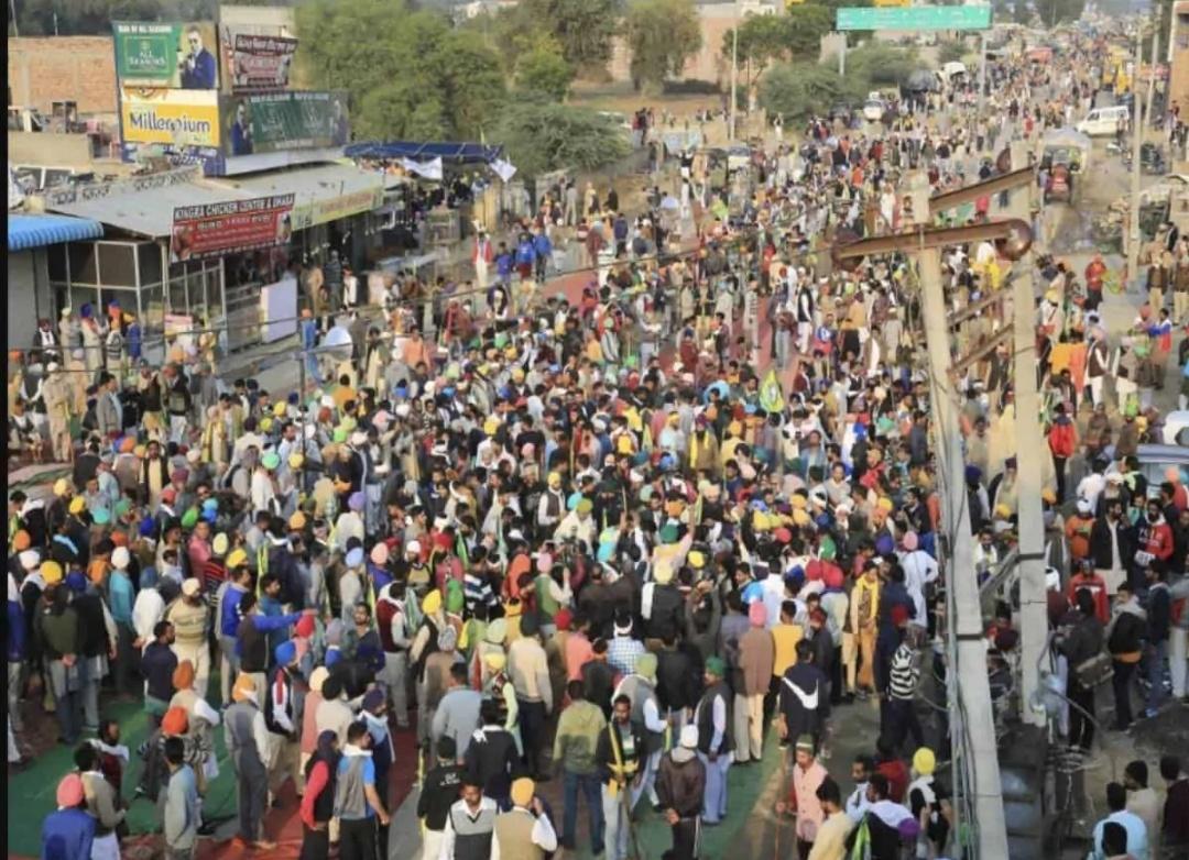 दिल्ली बॉर्डर पर किसानों का आज भूख हड़ताल! 17