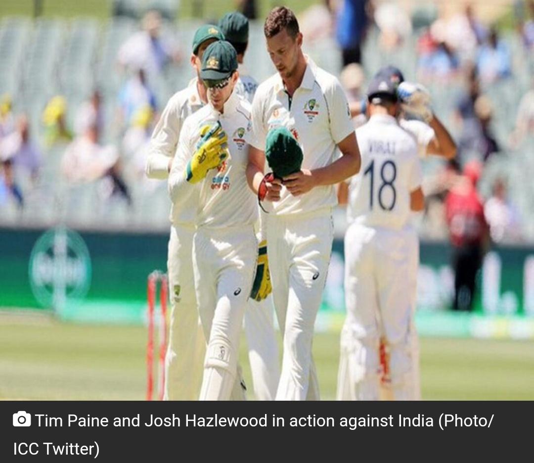 36 रन पर सिमटी टीम इंडिया, जीत की ओर ऑस्ट्रेलिया! 4