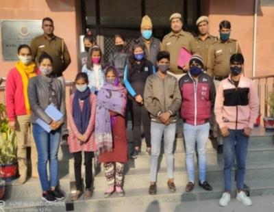 जम्मू-कश्मीर में फर्जी कॉल सेंटर का भंडाफोड़, 23 गिरफ्तार