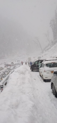 जम्मू-कश्मीर में फिर हिमस्खलन की चेतावनी जारी