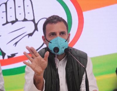 कांग्रेस की बनाई भारत की छवि को नष्ट कर रहे प्रधानमंत्री : राहुल (लीड-1)