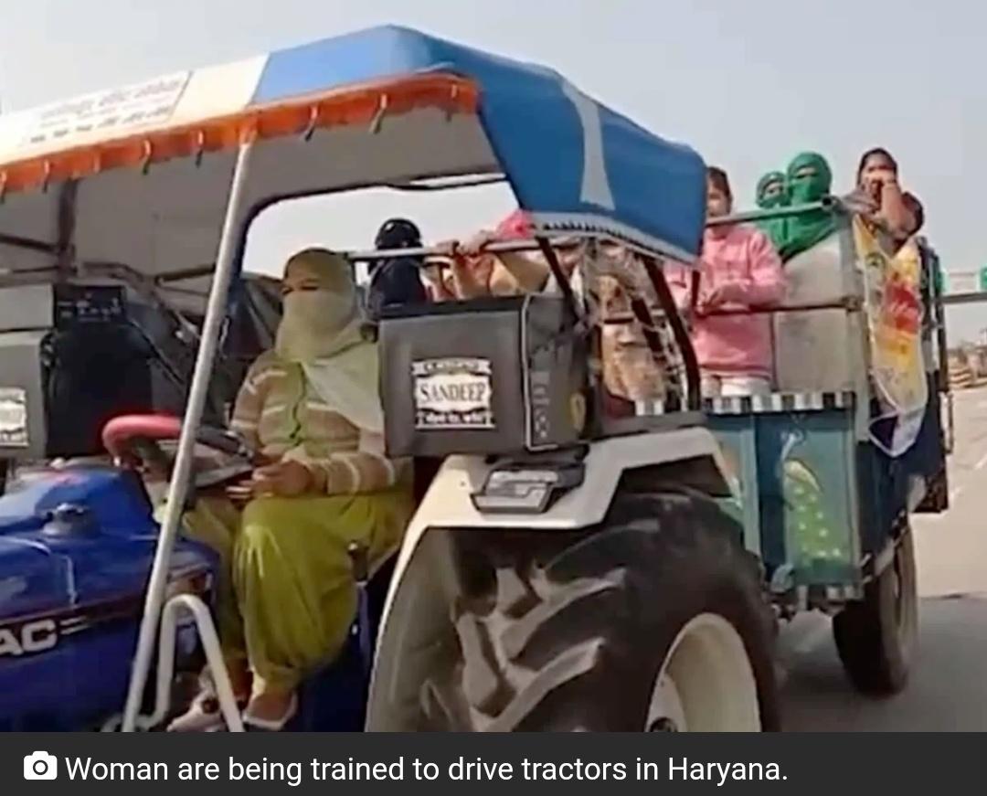 किसानों का विरोध: हरियाणा की महिलाएं 26 जनवरी को ट्रैक्टर रैली का नेतृत्व करने के लिए तैयार! 16