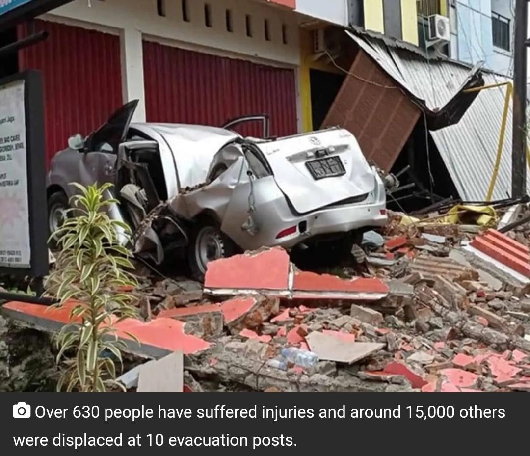 इंडोनेशिया: भूकंप में अब तक 35 लोगों की मौत! 10