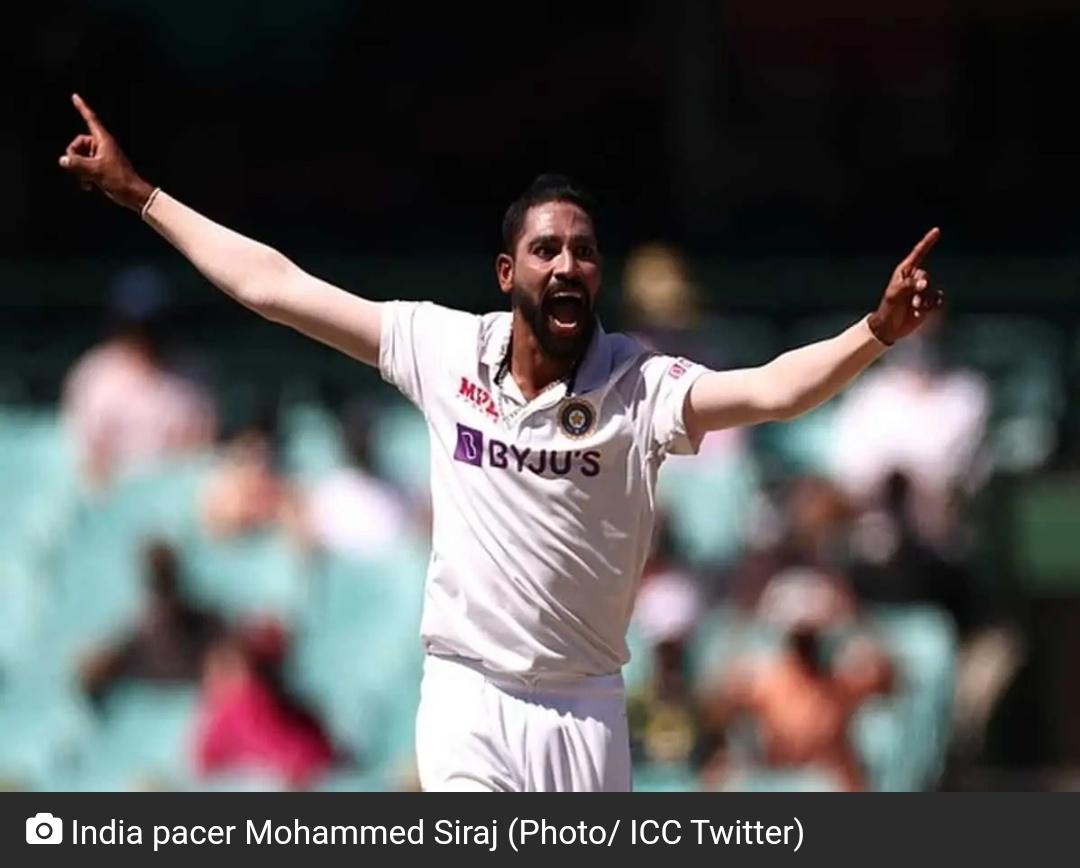 सचिन तेंदुलकर ने तेज़ भारतीय गेंदबाज़ मोहम्मद सिराज की जमकर तारीफ की! 4