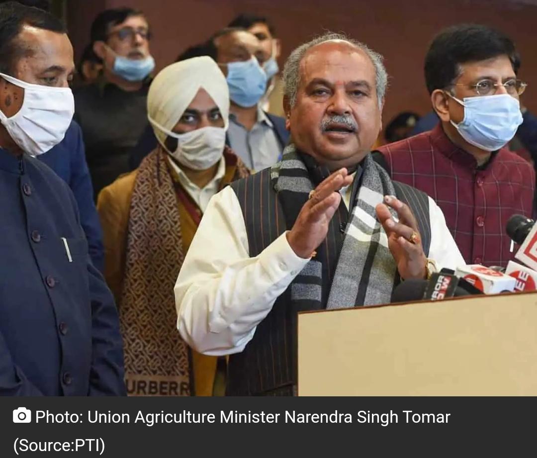 लगभग 18 महीनों के लिए नए कृषि कानूनों को टालने के लिए तैयार केंद्र: तोमर 9