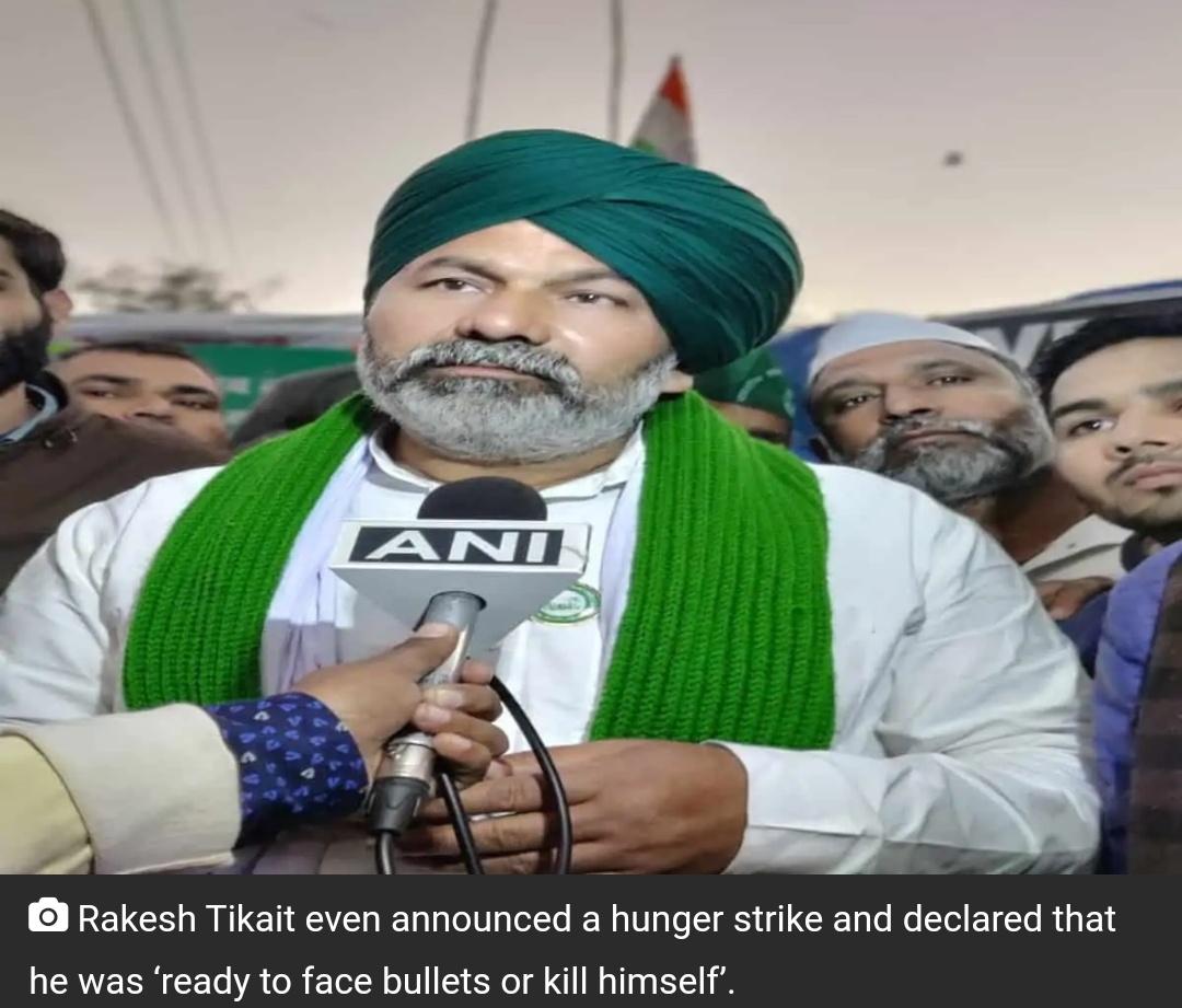 राकेश टिकैत की भावुक आंसूओं ने किसान आंदोलन में जान फूंक दी! 4