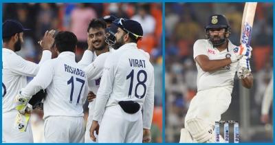 अहमदाबाद टेस्ट : मोटेरा में 10 विकेट की जीत के साथ भारत ने बनाई 2-1 की बढ़त (राउंडअप) 1