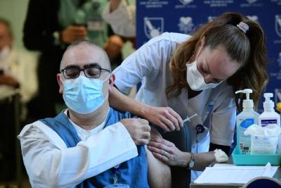 इजरायल में 40 लाख लोगों का कोविड के खिलाफ टीकाकरण हुआ