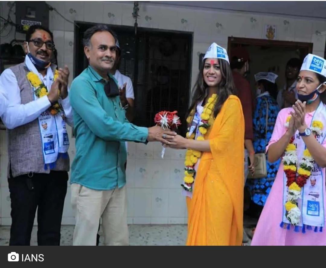 गुजरात निकाय चुनाव: AAP की पायल पटेल सबसे युवा चेहरा बनी! 5
