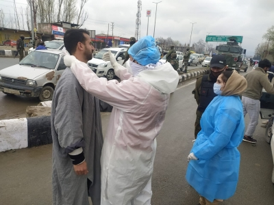 जम्मू-कश्मीर में कोरोना के 599 नए मामले, 9 की मौत 1