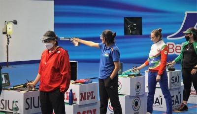 शूटिंग वर्ल्ड कप : यशस्विनी ने जीता भारत के लिए पहला स्वर्ण