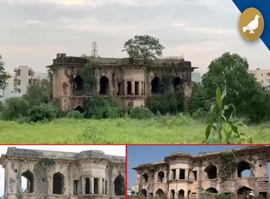 हैदराबाद के 300 वर्षीय मुशाल महल को तत्काल ध्यान देने की आवश्यकता है! 8