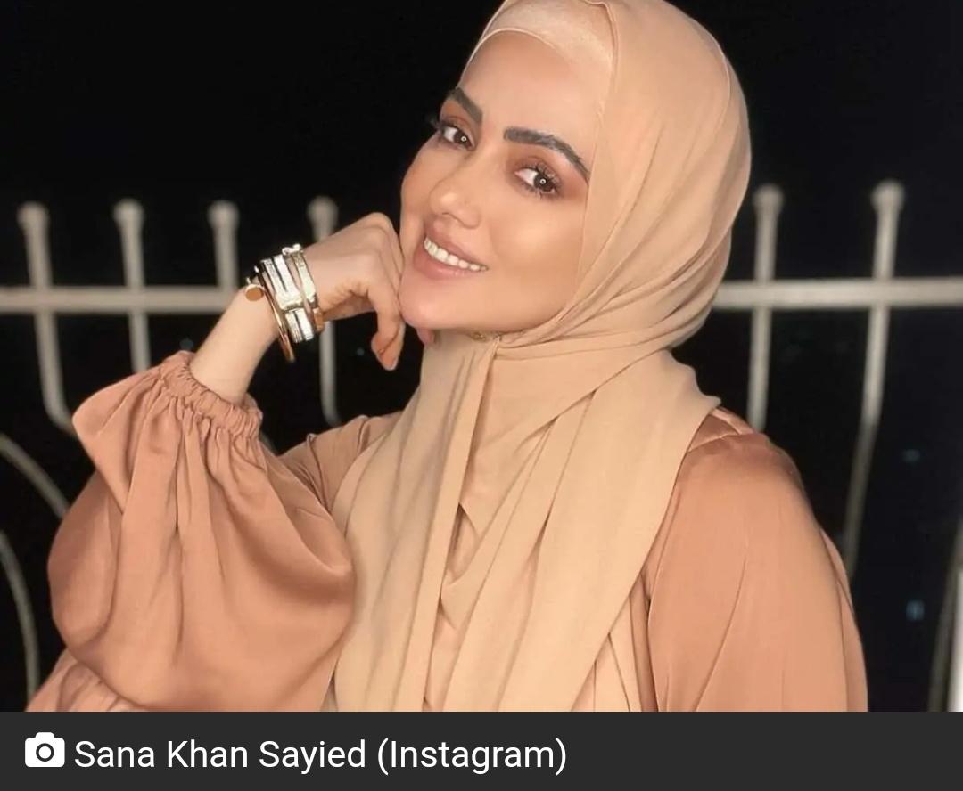 रमज़ान से पहले सना खान का मैसेज वायरल! 12