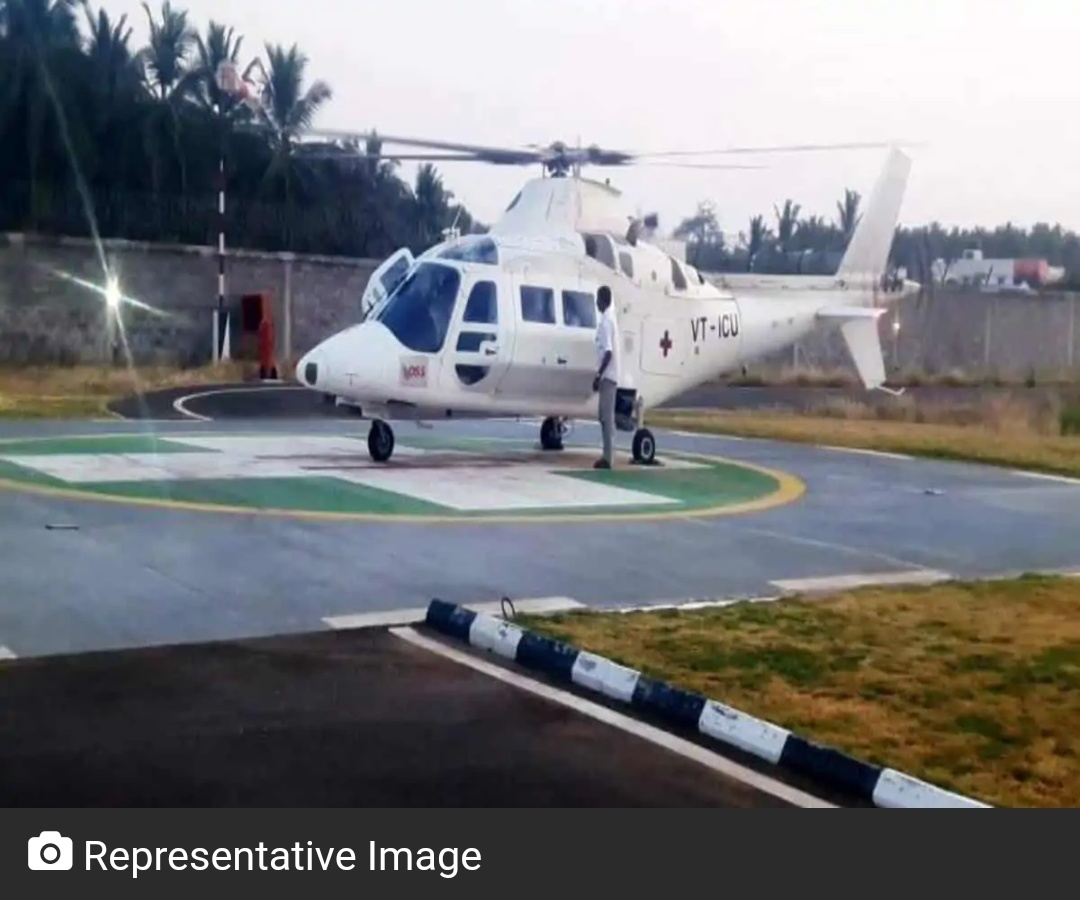 मध्य प्रदेश COVID योद्धा के इलाज के लिए हैदराबाद एयरलिफ्ट किया गया! 8