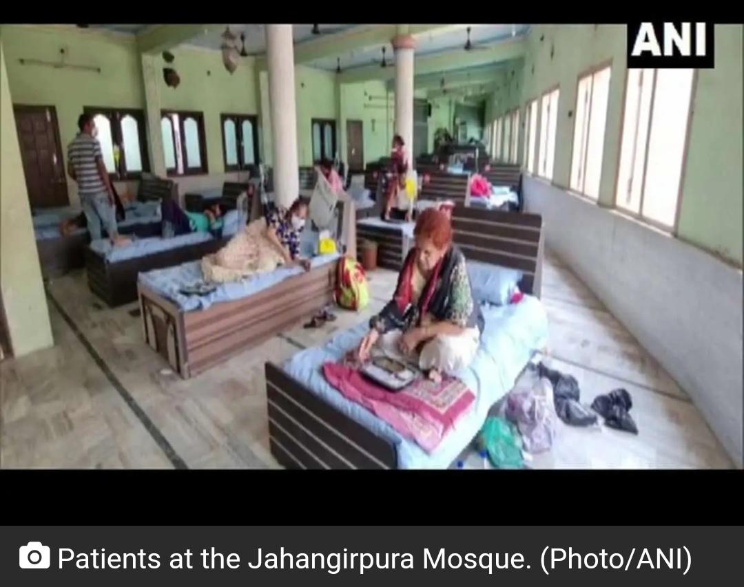 बड़ोदरा का यह मस्जिद कोरोना मरीजों के लिए पेश किया मिसाल! 19