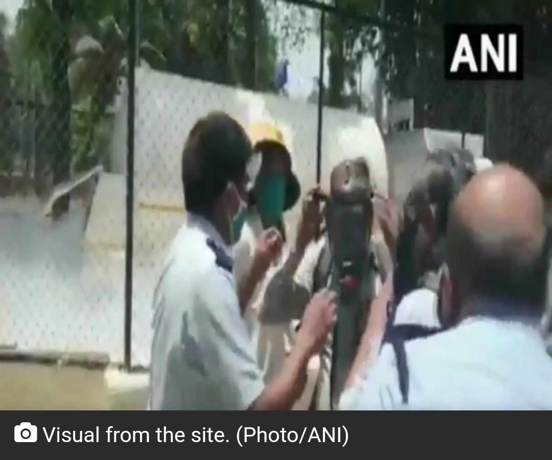 महाराष्ट्र में आक्सीजन टैंकर लीक होने से 22 मरीजों की मौत! 1
