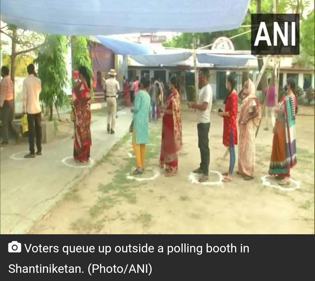 पश्चिम बंगाल चुनाव: अंतिम चरण के लिए मतदान जारी! 20