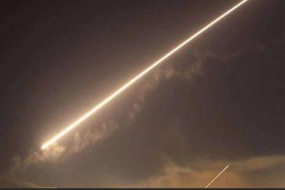 रॉकेट हमले के बाद इज़राइल ने गाजा में हमास को निशाना बनाया!