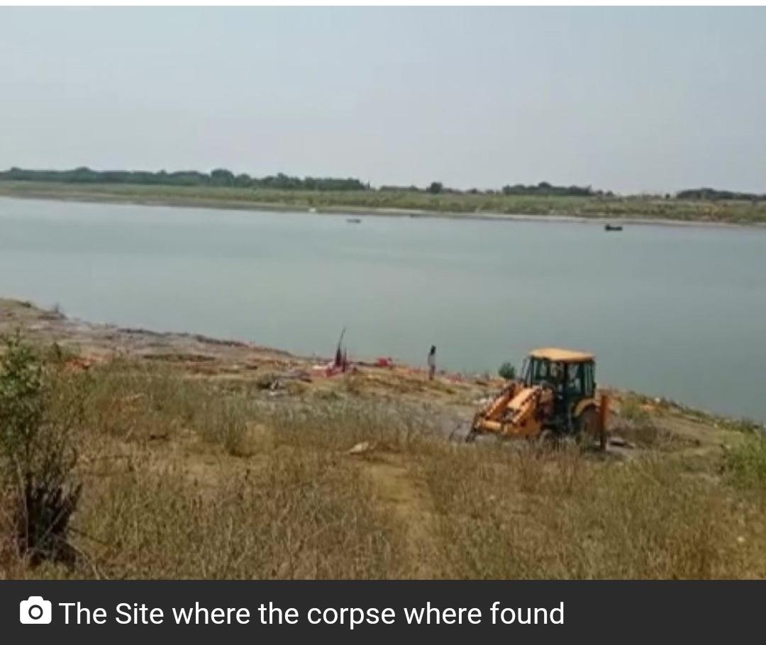 बिहार के बक्सर में गंगा में कई शव तैरते मिले! 8