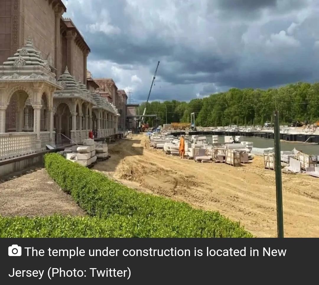 अमेरिका में दलित भारतीय श्रमिकों ने मजदूरी के लिए $ 1 / घंटा के रूप में मंदिर बनाने के लिए मजबूर किया! 8