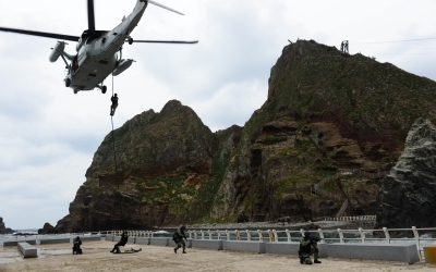 दक्षिण कोरियाई सेना रक्षा अभ्यास करेगी