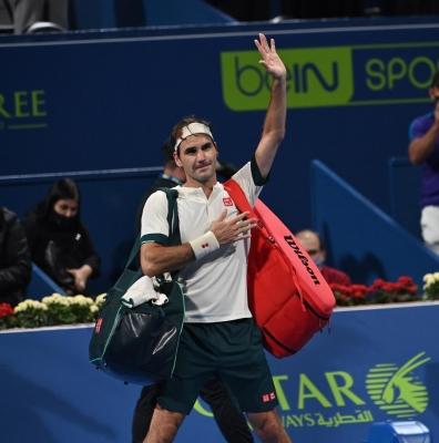 टेनिस : फेडरर नोवेंटी ओपन के दूसरे दौर में पहुंचे