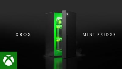 माइक्रोसॉफ्ट ने एक्सबॉक्स सीरीज एक्स-आकार के मिनी फ्रिज का अनावरण किया 1