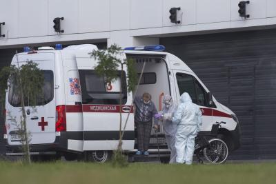 रूस में कोरोना के 10 हजार से अधिक नए मामले दर्ज