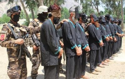 अफगानिस्तान में 10 तालिबान आतंकवादी गिरफ्तार