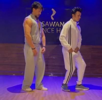 टाइगर श्रॉफ ने अपने डांस गुरु को कूल डांस मूव्स समर्पित किए