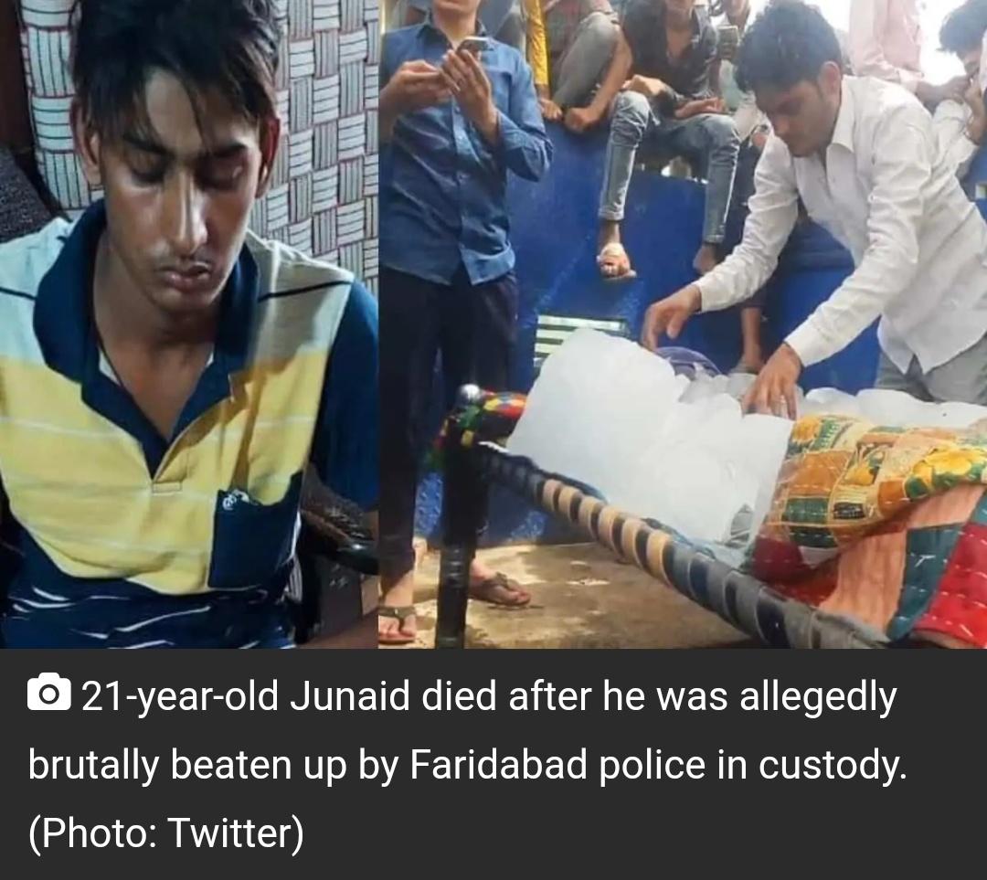 हरियाणा: पुलिस ने हिरासत में कथित तौर पर पिटाई के बाद मुस्लिम लड़के की मौत हो गई 7