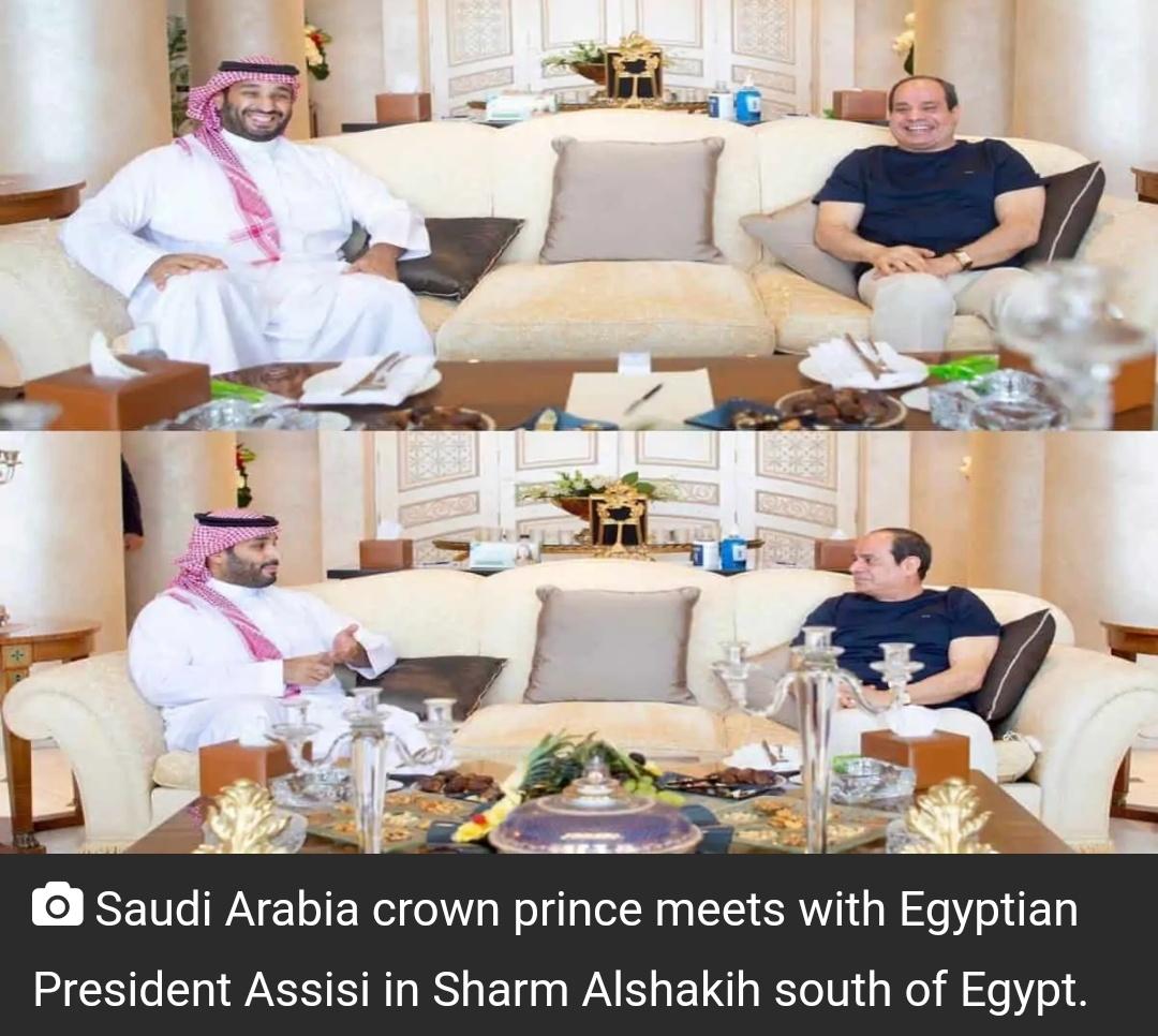 मिस्र के राष्ट्रपति, सऊदी क्राउन प्रिंस ने क्षेत्रीय मुद्दों पर की चर्चा 3