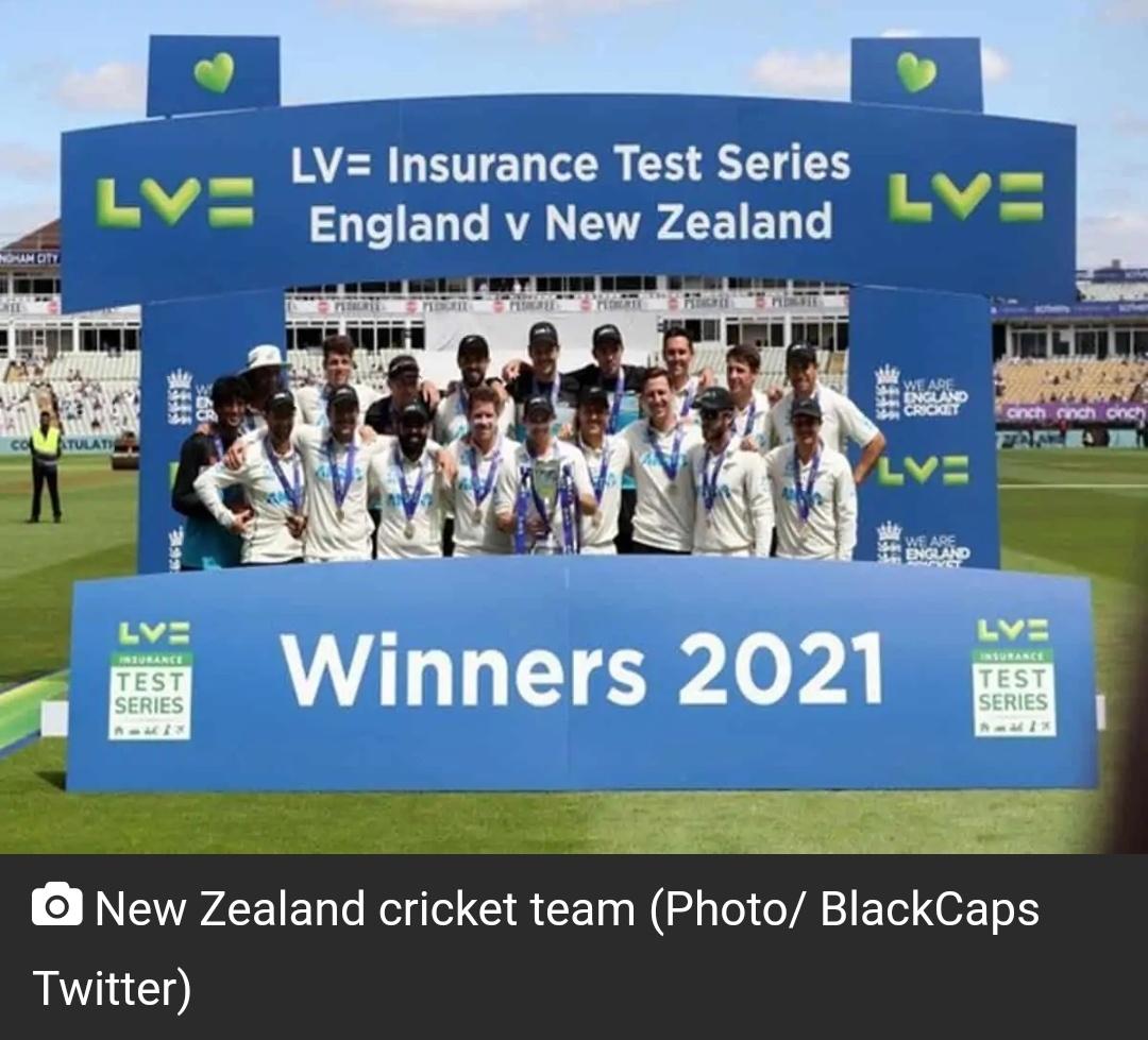 टेस्ट रैंकिंग में न्यूजीलैंड की टीम नंबर वन बनी! 1